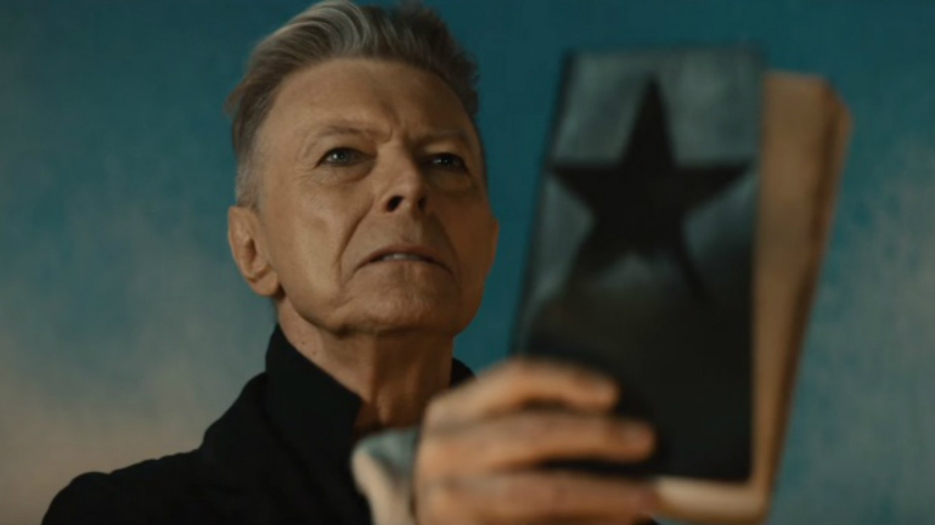 David Bowie's Blackstar vinyl sells out, appears on sale for £800