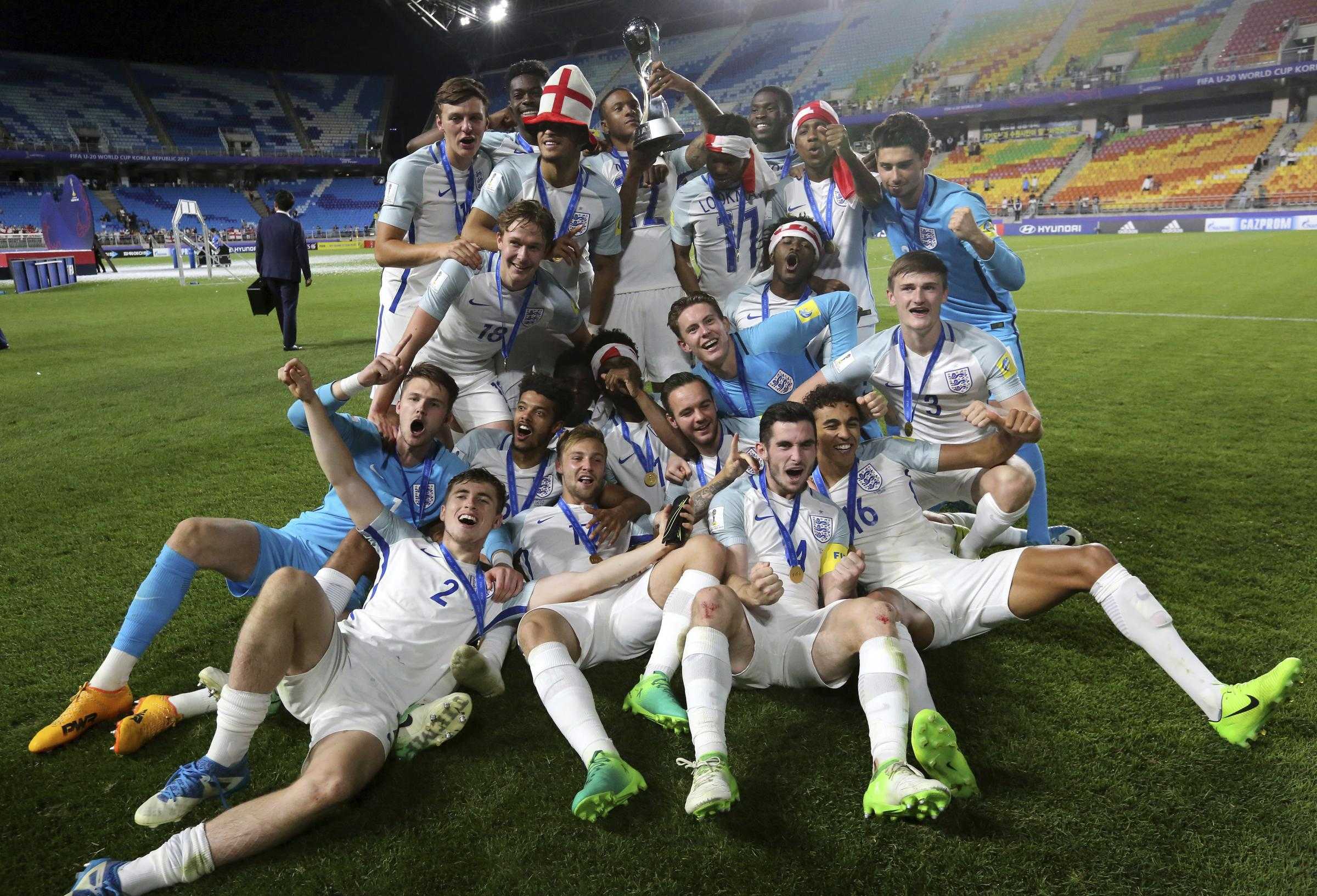England have won the Under-20 World Cup