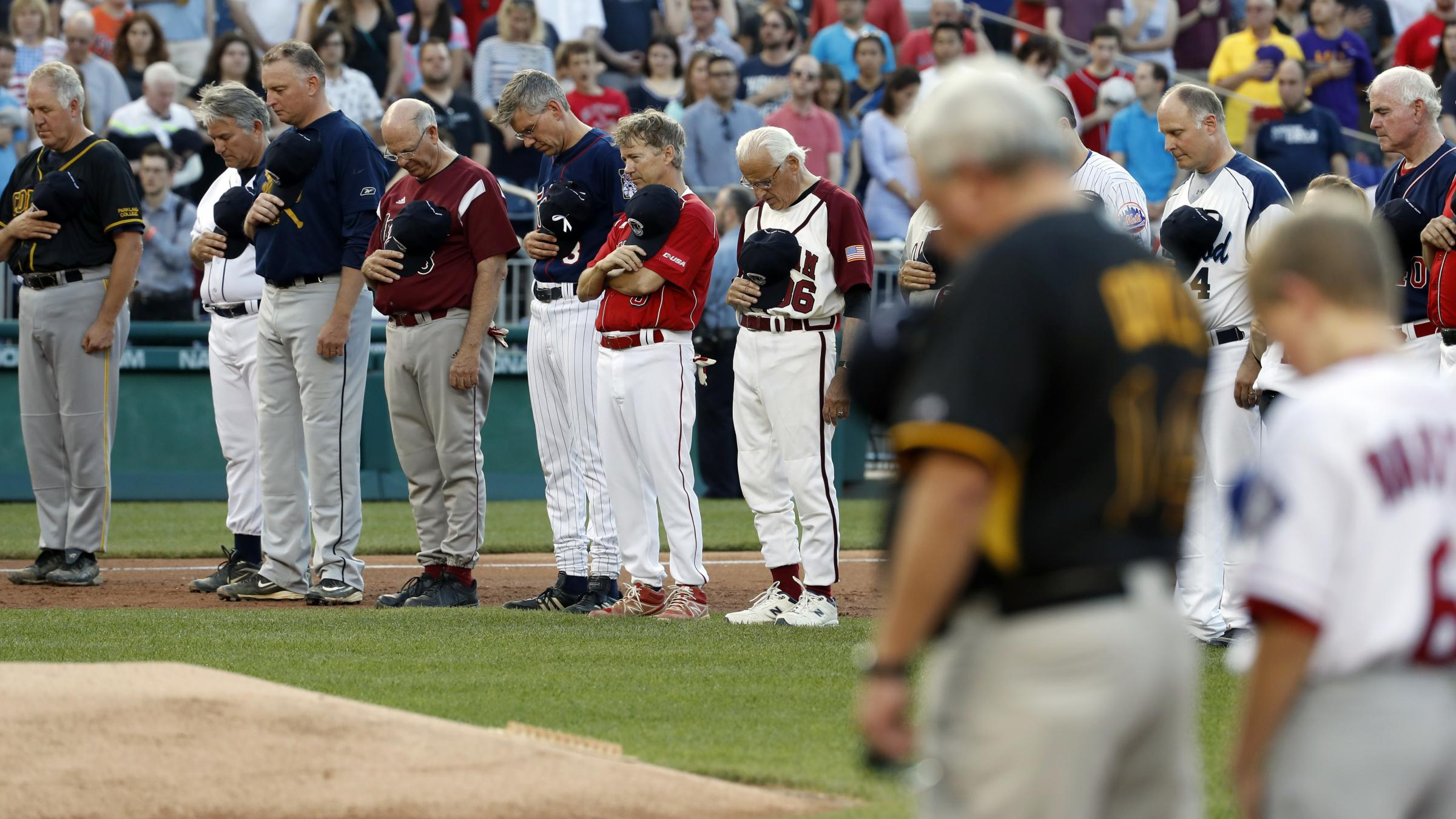 US Lawmaker Shot at Baseball Practice Remains in Critical Condition